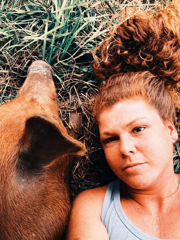 Meagan Se Houston Mini Pig Rescue