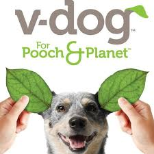 V Dog Logo VegFest Houston Sponsor