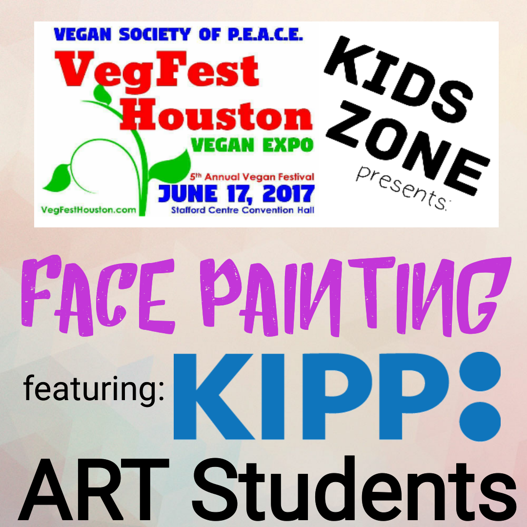 VegFest Houston Kipp Art Facepainting